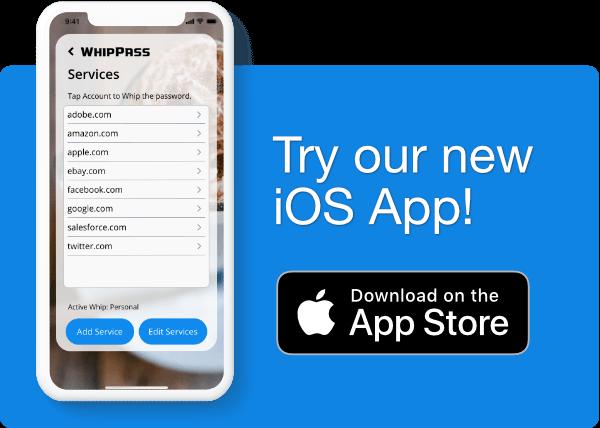 WhipPass iOS App